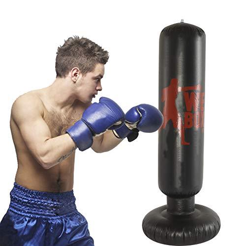 Free Standing Boxing Punching Bag Set Fitness UK Punch Bag Training